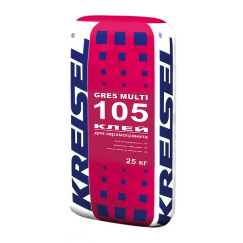 Клей для керамогранита GRES MULTI 105 Kreisel
